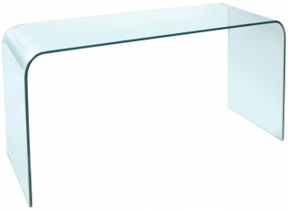 Greenapple Pure Glass Arc Console Table
