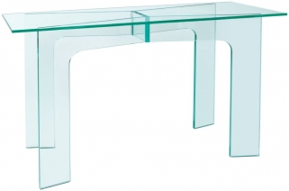 Greenapple Pure Glass Horizon Console Table 59412
