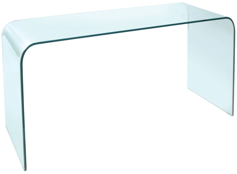 Greenapple Pure Glass Arc Console Table GA101
