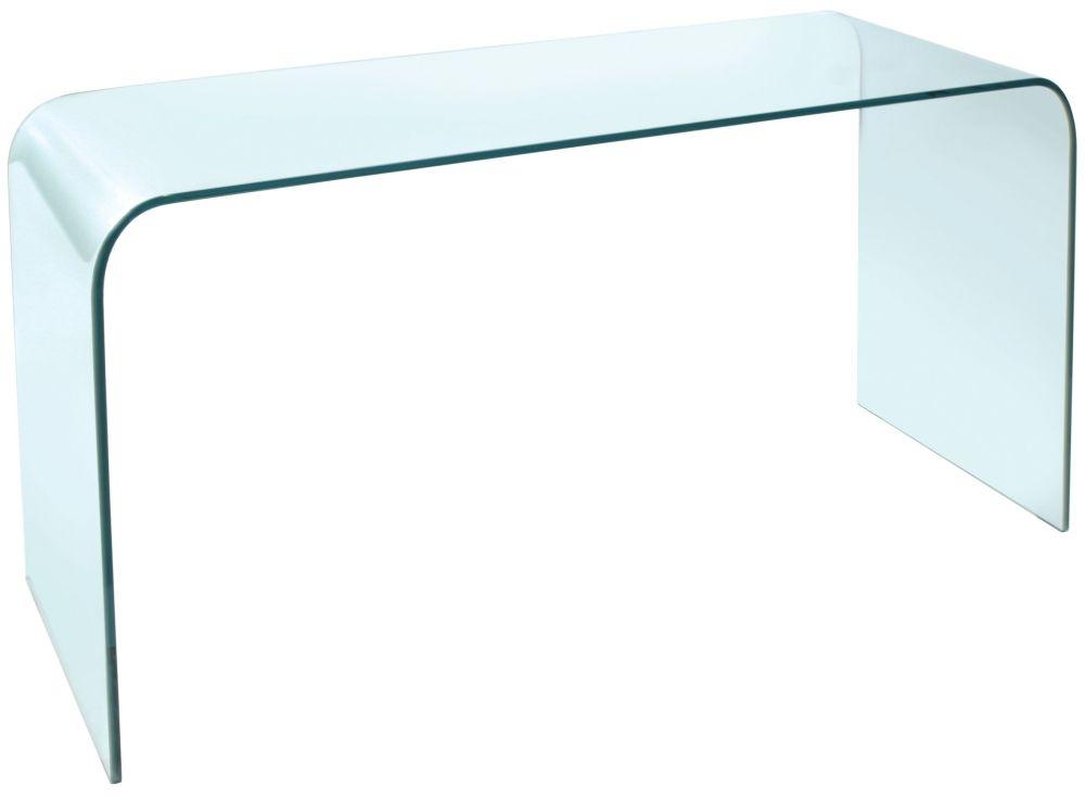 Greenapple Pure Glass Arc Console Table
