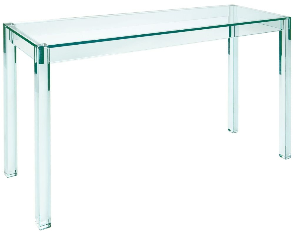 Greenapple Pure Glass Crystal Vienna Console Table