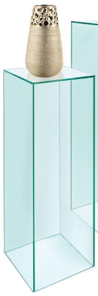 Greenapple Pure Glass Column Display Pedestal - Small 59425