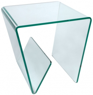 Greenapple Pure Glass Combi Lamp Table - Clear GA402