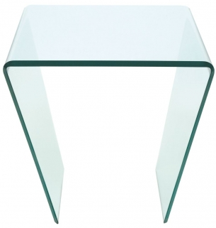 Greenapple Pure Glass Curvo Lamp Table GA202