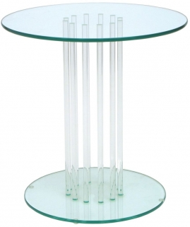 Greenapple Pure Glass Round Table 59576