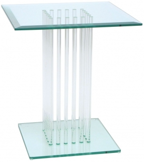 Greenapple Pure Glass Square Table 59580