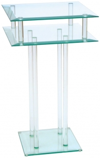 Greenapple Pure Glass Square Table 59587