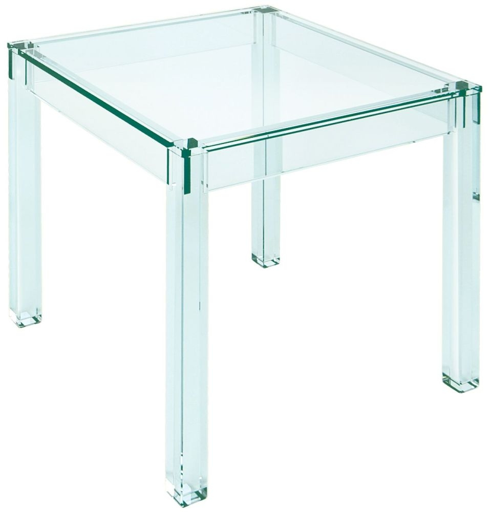Greenapple Pure Glass Crystal Vienna Lamp Table