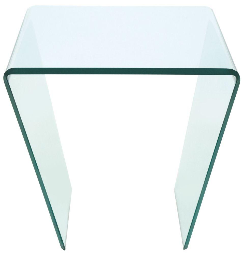 Greenapple Pure Glass Curvo Lamp Table GA202