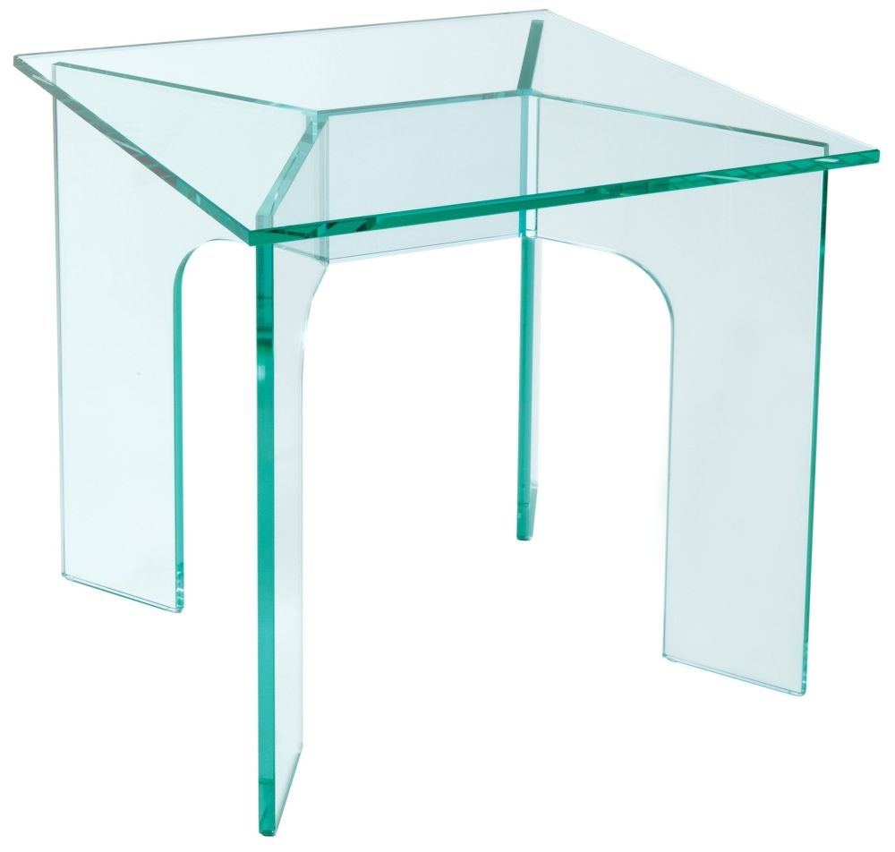 Greenapple Pure Glass Horizon Lamp Table 59411