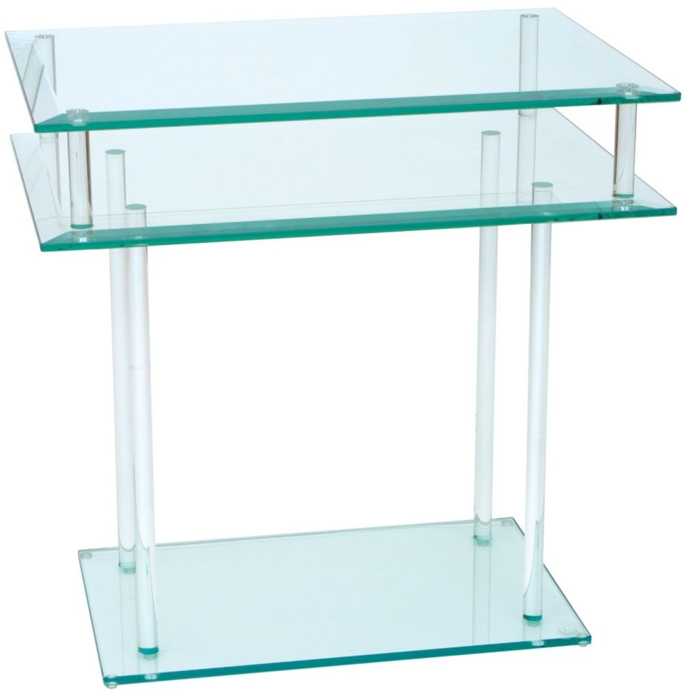 Greenapple Pure Glass Rectangular Table 59787