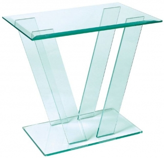 Greenapple Pure Glass Square Table