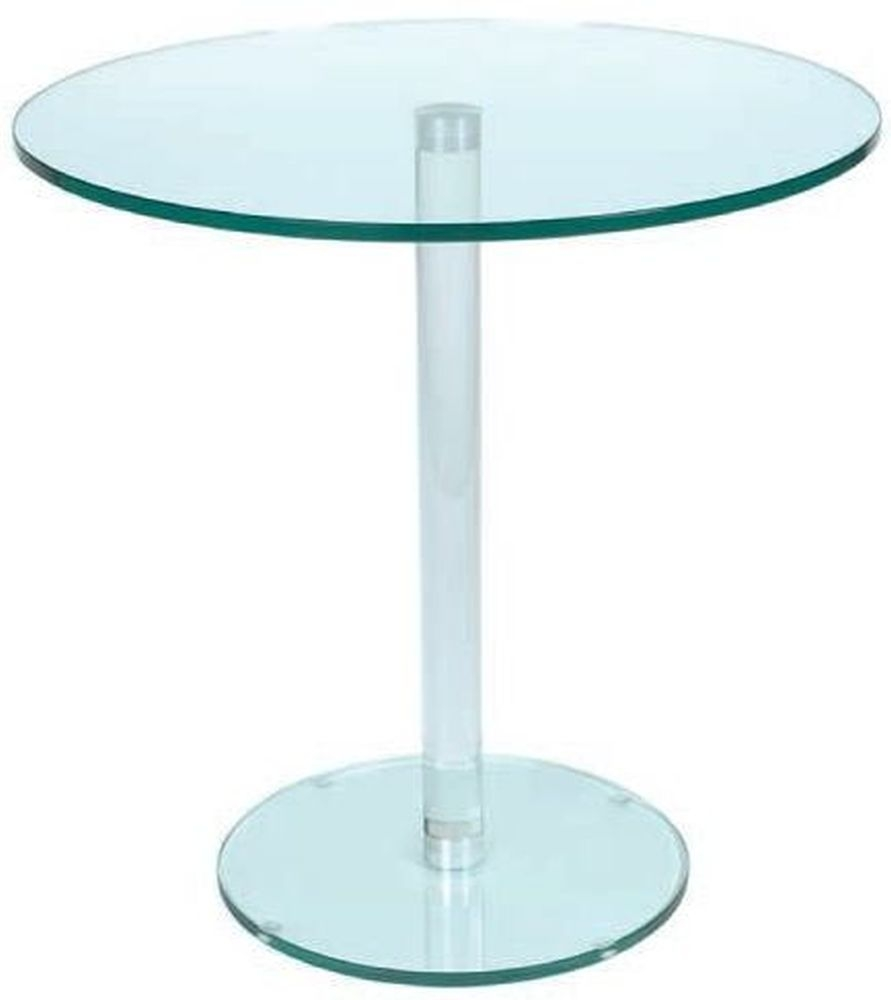 Greenapple Pure Glass Round Table with Glass Leg 59202