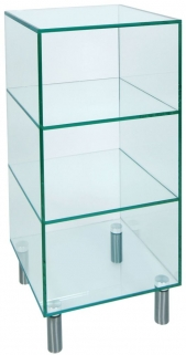 Greenapple Pure Glass Shelf Unit - Small 59113WL