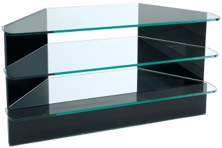 Greenapple Pure Glass Plasma TV Stand - Black 59293HZW