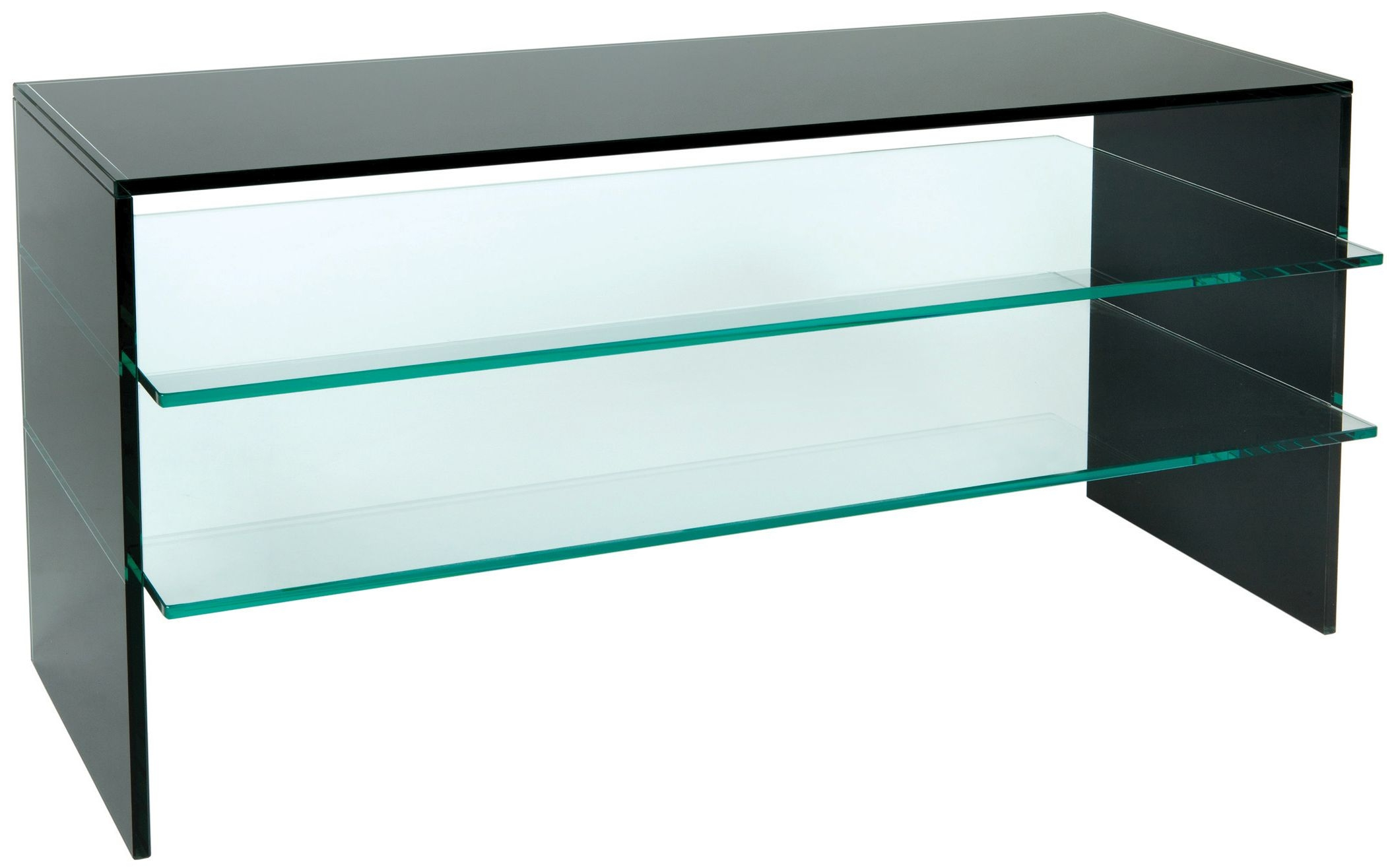 Greenapple Pure Glass Plasma TV Stand - Black 59225ZW