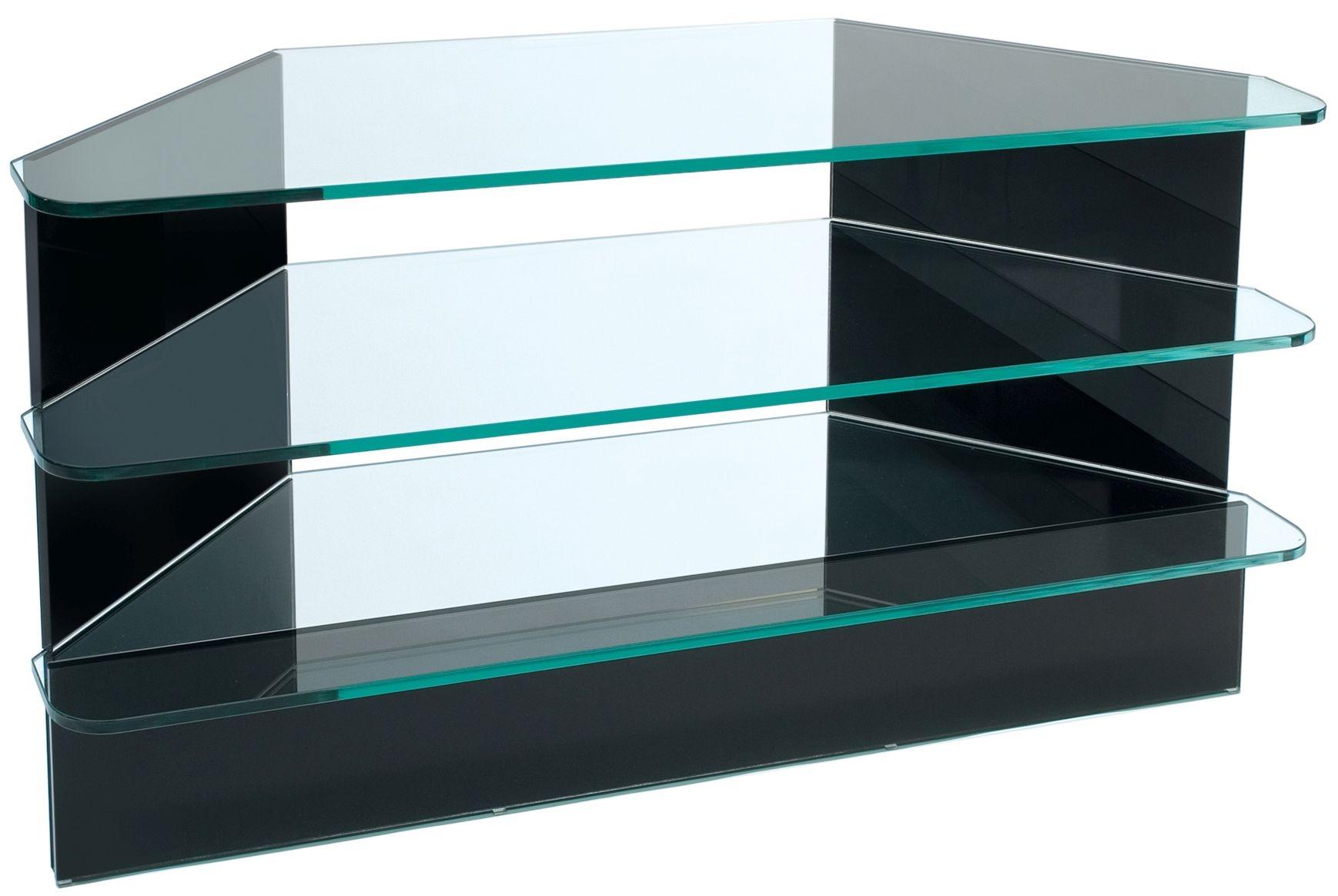 Greenapple Pure Glass Plasma TV Stand - Black 59293HZW