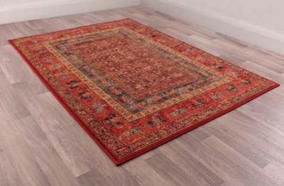 Keshan Supreme Pazyryk Worsted Wool Rug