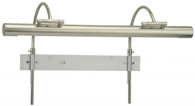 Heathfield Kinver Satin Nickel Picture Light