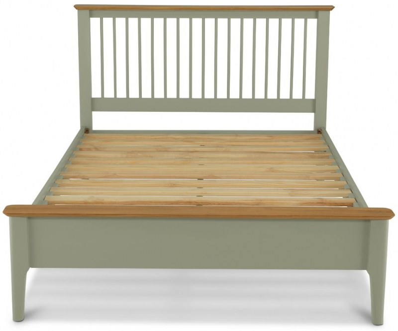 Ancona Sage Green Painted Bed