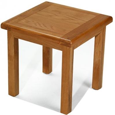 Arles Oak Lamp Table