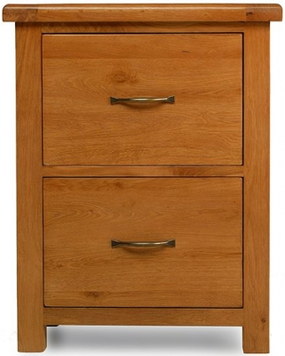 Arles Oak Office filling Cabinet