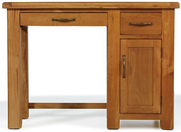 Arles Oak Single Computer Desk