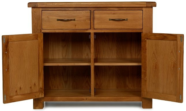 Arles Solid Oak 2 Drawer Standard Sideboard