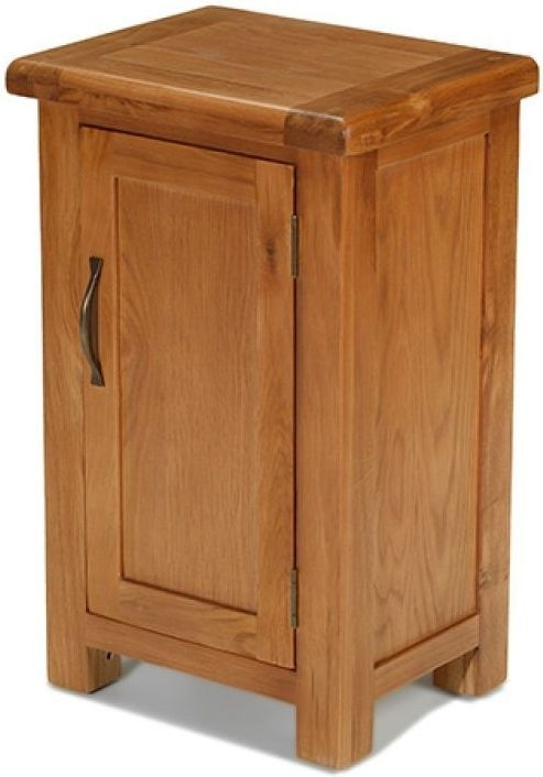 Arles Solid Oak 1 Door Petite Cupboard