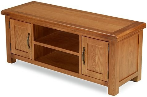 Arles Oak Wide TV Unit