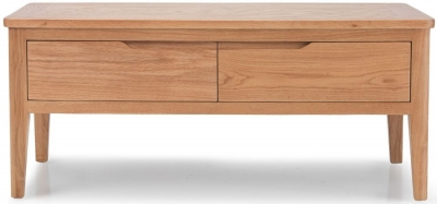 Asby Oak 4 Drawer Coffee Table