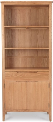 Asby Oak Tall Bookcase
