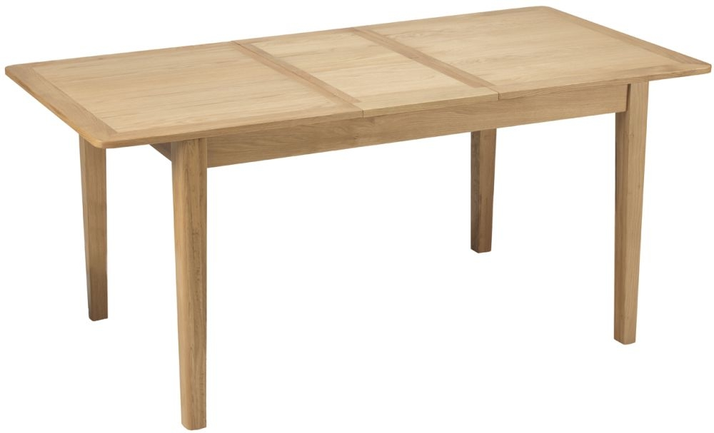 Asby Oak Extending Dining Table