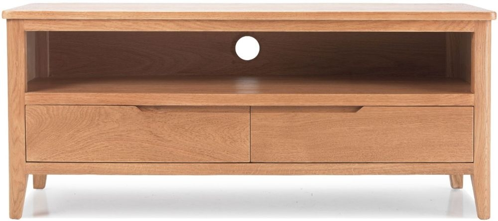 Asby Oak Plasma TV Unit