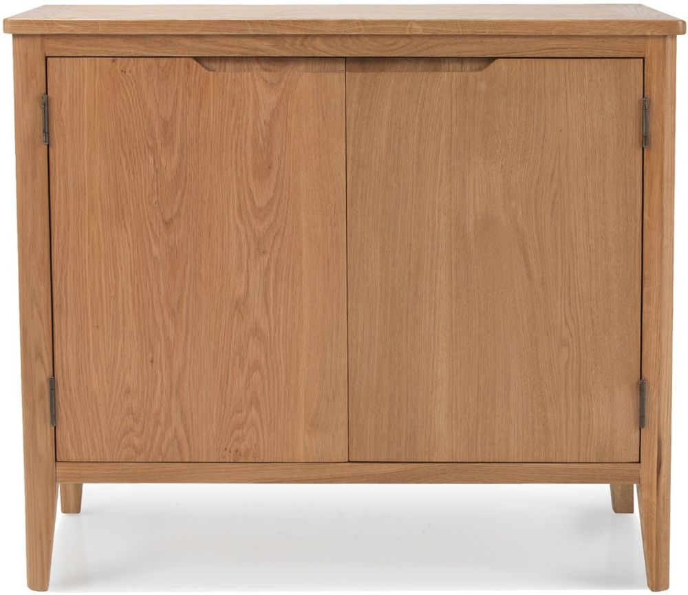 Asby Oak 2 Door Small Sideboard