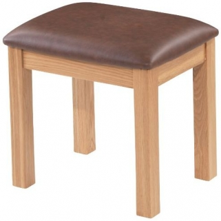 Bayford Oak Dressing Stool