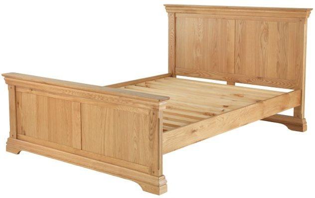 Bayford Solid Oak High Foot End Bed