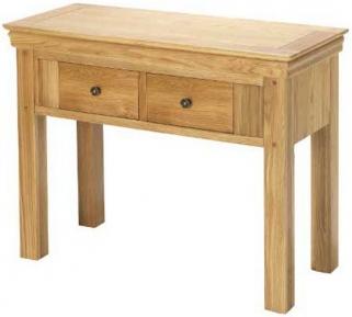 Bayford Oak Console Table