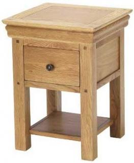 Bayford Oak Lamp Table