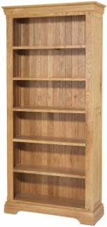 Bayford Oak Large Bookcase
