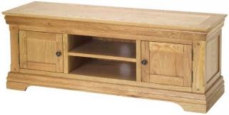 Bayford Oak Plasma TV Video Cabinet
