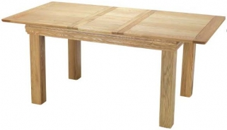 Bayford Oak Small Extending Dining Table