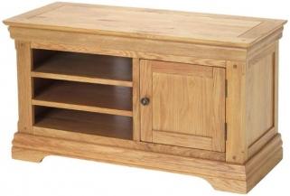 Bayford Oak TV Video Cabinet