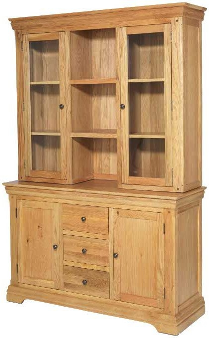 Bayford Oak Large Dresser