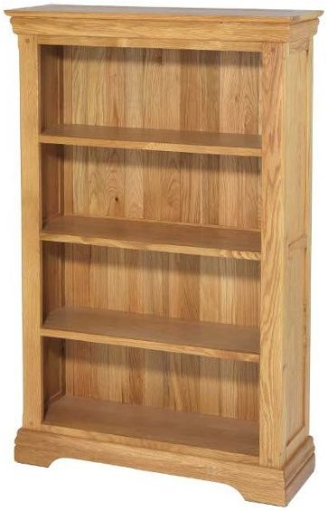 Bayford Oak Medium Bookcase