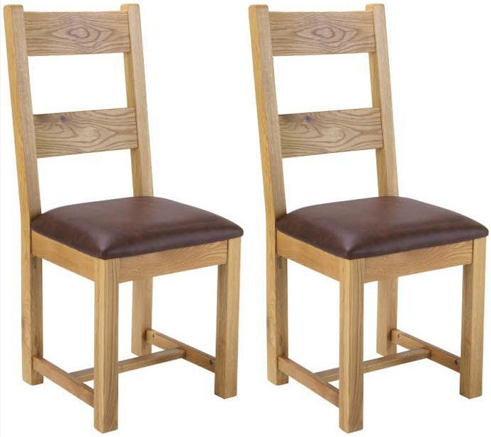 Bayford Oak Dining Chair (Pair)