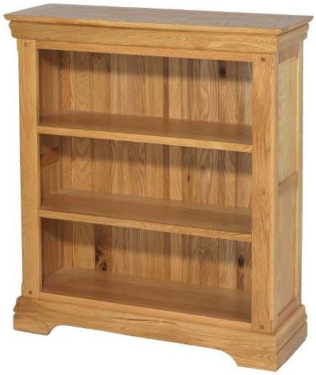 Bayford Solid Oak Small Bookcase