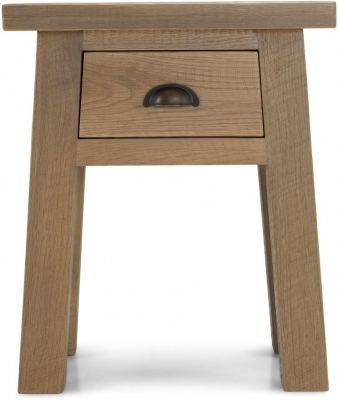 Bourg Oak Lamp Table
