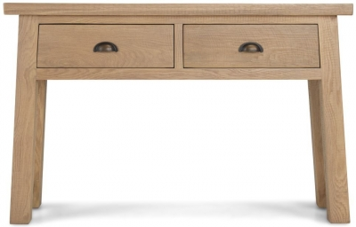 Bourg Oak Console Table