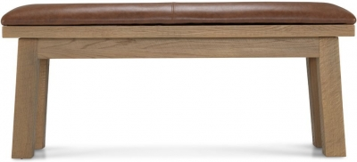 Bourg Oak Dining Bench